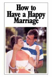 How To Have A Happy Marriage PDF - Church of God Faithful Flock