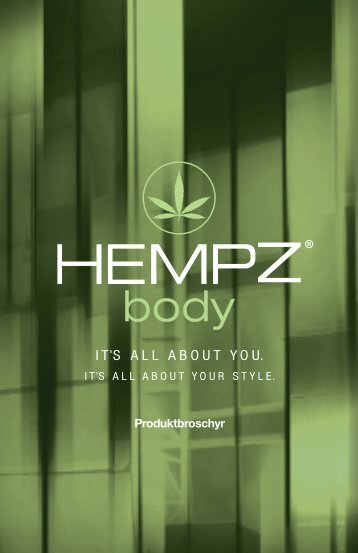 Hempz Body Broschyr - Moduline