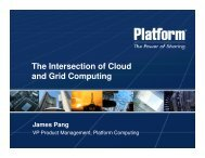 The Intersection of Cloud and Grid Computing - National Cloud ...