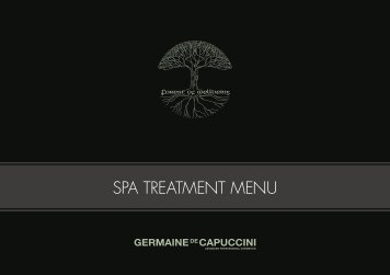Download Our Spa Treatments Brochure - Bicester Hotel, Golf and ...