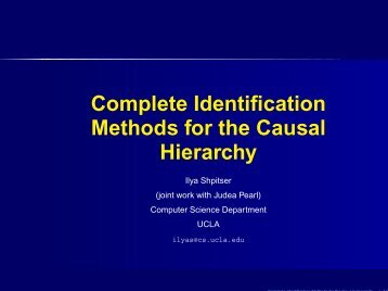 Complete Identification Methods for the Causal Hierarchy - ClopiNet