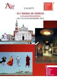 VIAJARTE 55 º BIENAL DE VENECIA - Viajes Mundo Amigo