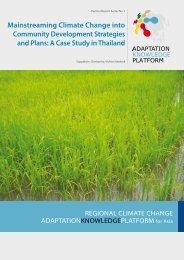 A Case Study in Thailand - weADAPT