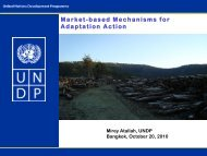 Market-based Mechanisms for Adaptation Action - Asia Pacific ...