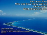 Sea Level Rise Who and how many will be vulnerable? What should we ...