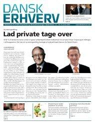 Lad private tage over - Dansk Erhverv - Billedgalleri