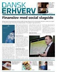 Finanslov med social slagside - Dansk Erhverv - Billedgalleri