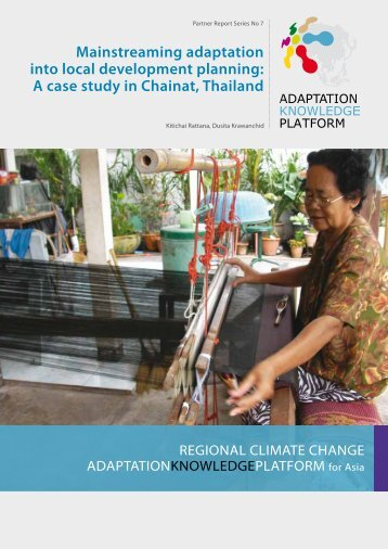 Chainat Mainstreaming Adaptation - Regional Climate Change ...
