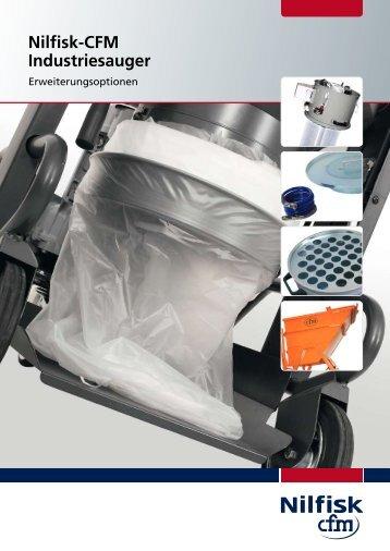 Nilfisk-CFM Industriesauger | Erweiterungsoptionen