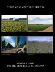 The Board of Directors have published the 2007 Annual Report for ...