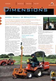 Dimensions Vol 4 Issue 3 Dec 2001 When Small is Beautiful