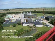 Vedligehold af kaverner på Ll. Torup Gaslager - Dansk Gas Forening