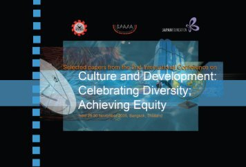 cultural equity & indigenous knowledge - Seameo-SPAFA