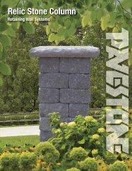 Relic Stone Column - Pavestone