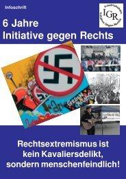 6 Jahre Initiative gegen Rechts - Register Friedrichshain