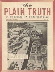Plain Truth 1961 (Vol XXVI No 05) May - Lcgmn.com