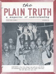 Plain Truth 1964 (Vol XXIX No 09) Sep - And He said to them,