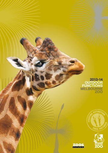 Melbourne Zoo outdoor functions guide (828.42 KB) - Zoos Victoria
