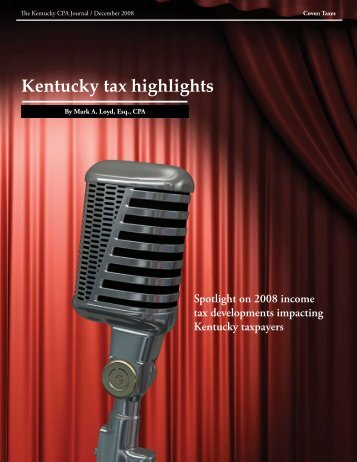 Mark Loyd - Kentucky Tax Highlights.pdf