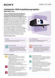 Download Factsheet - Steinlechner