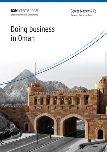 Doing Business in Oman - RSM International