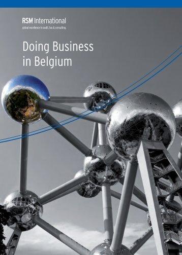 Doing Business in Belgium - RSM International