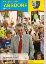 Gemeindesammelzentrum eröffnet Bundespräsident ... - Absdorf 2011