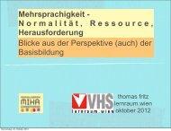 Mehrsprachigkeit - Normalität, Ressource ... - Netzwerk MIKA