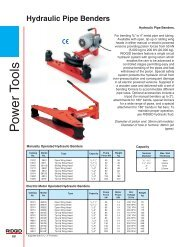 Hydraulic Pipe Benders - Putkikierre