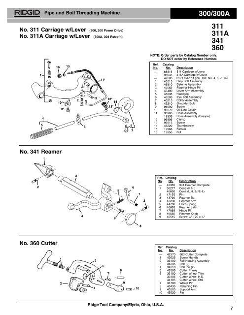wiring diagram for ridgid threader 300  300
