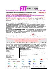 Pressetext Jänner 2008