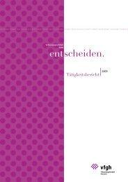 Tätigkeitsbericht 2009 - Der Österreichische Verfassungsgerichtshof