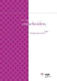 Tätigkeitsbericht 2010 - Der Österreichische Verfassungsgerichtshof