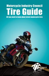 Tire Guide - Motorcycle Safety Foundation