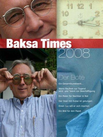 Der Bote - Jean Pierre von Baksa