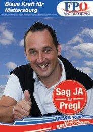 Blaue Kraft für Mattersburg - FPÖ Burgenland