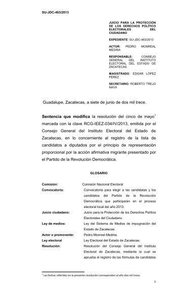 SU-JDC-463/2013 - tjez.gob.mx