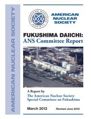 ANS Committee Report - Fukushima Daiichi - American Nuclear ...