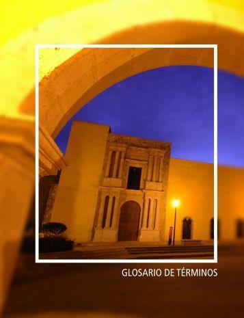 GLOSARIO DE TÉRMINOS - Finanzas