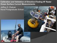 Calibration and Validation of Direction-Finding HF Radar Ocean ...