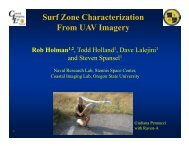 Surf Zone Characterization From UAV Imagery
