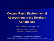 Coastal Rapid Environmental Assessment in the Northern Adriatic Sea