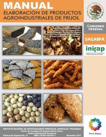manual elaboración de productos ... - INIFAP Zacatecas