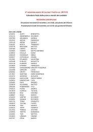 Calendario Esami Unisa.Calendario Degli Esami Sessione Invernale 2013