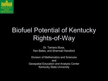 400 Kb pdf - Kentucky State University Organic Agriculture Working ...