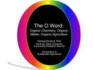The O Word - Kentucky State University Organic Agriculture Working ...