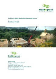Build It Green – Structural Insulated Panels Standard Details