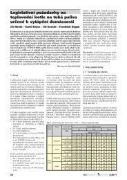 Legislativní požadavky na teplovodní kotle na tuhá paliva určené k ...