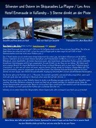Reise-Details im PDF-Format anzeigen - SKI COOL