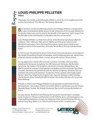 louis-philippe pelletier - Latitude 45 Arts